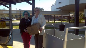 Donna Spring Lake Food Donation 2013